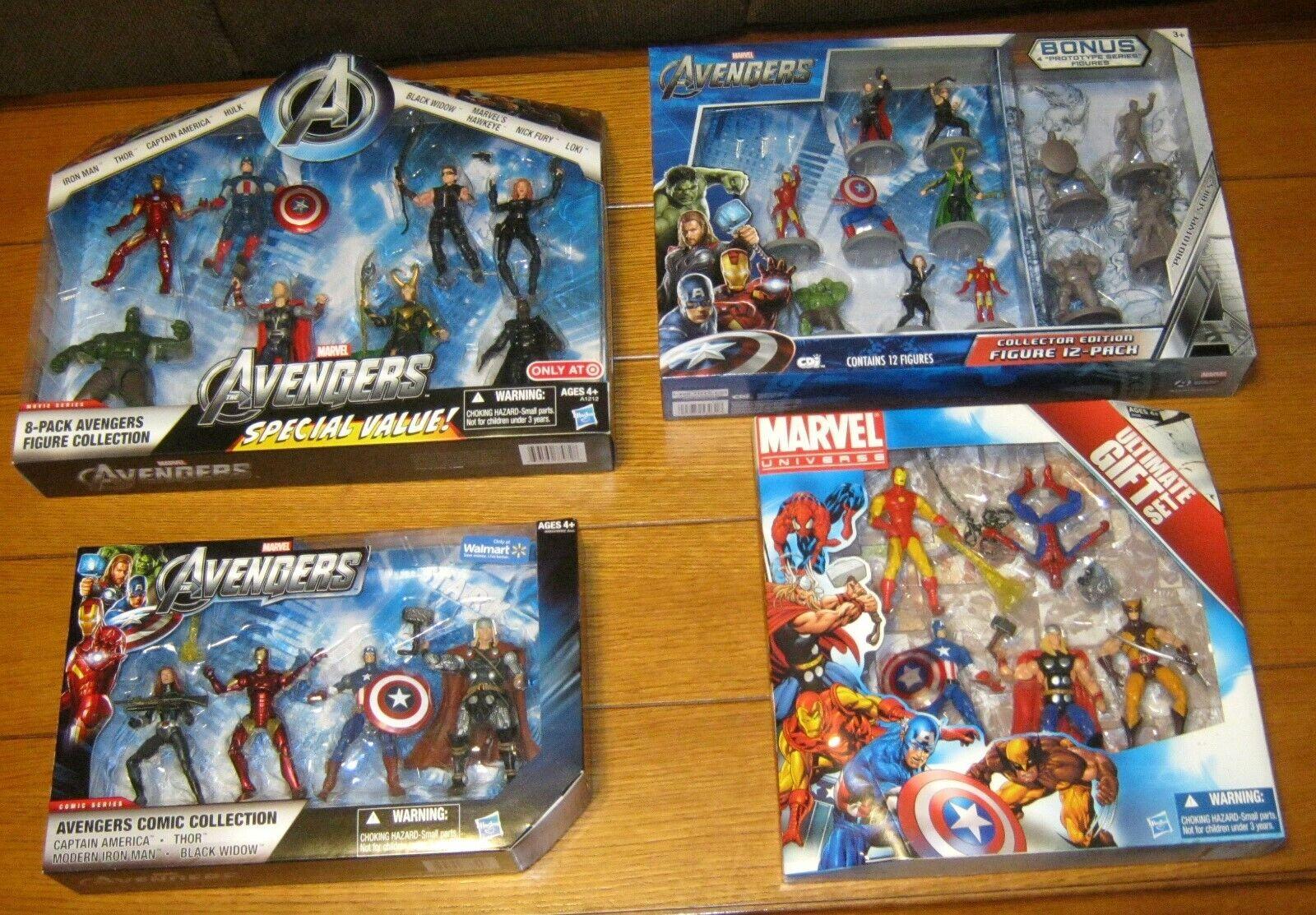 Marvel Avengers Acción Figura Special kits (4 renglones diferentes) W   target & Wal - Mart