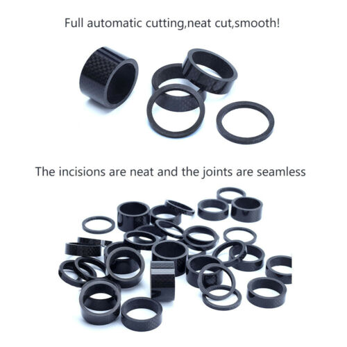 """11PCS Stem Washers Carbon 6 Sizes Headset Spacers 1-1//8/"""" MTB Bike Bicycle Fork"""
