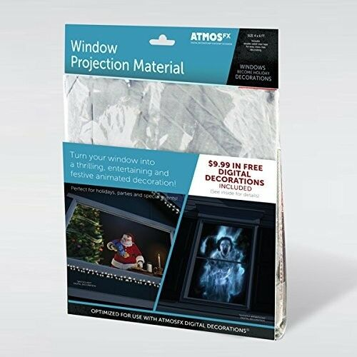 Window Projector Screen Projection Material Sheet Fabric AtmosFX
