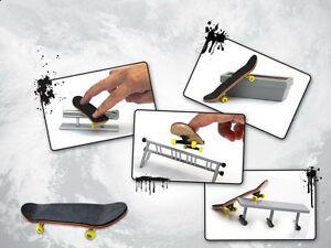 1PCS-finger-skateboard-4PCS-slide-rack-Fingerboard-Rail-Skate-Board-Ramp-Parts