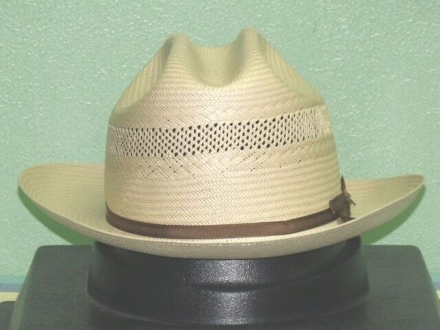 Stetson Hats Mens 10X Open Road Toast 2 3//4 Brim
