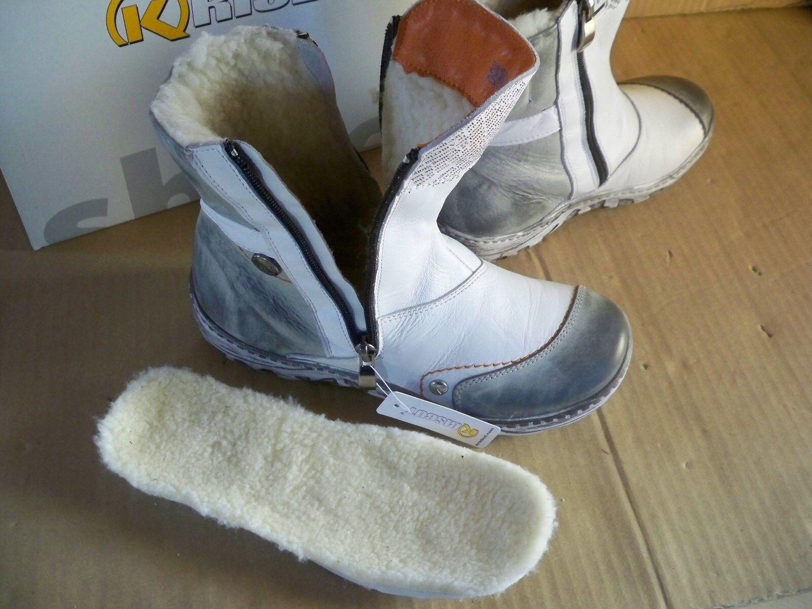 Krisbut Bottes vrac Femmes Boots cendré warmfutter en vrac Bottes Semelle Intérieure 3075-3-11 gr39 e0cc15
