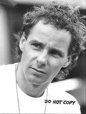 Gerhard Berger Original B&W Period Press Portrait 1995