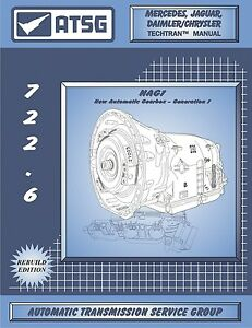 Details about Mercedes 722 6 5 Speed Automatic Transmission ATSG Workshop  Manual