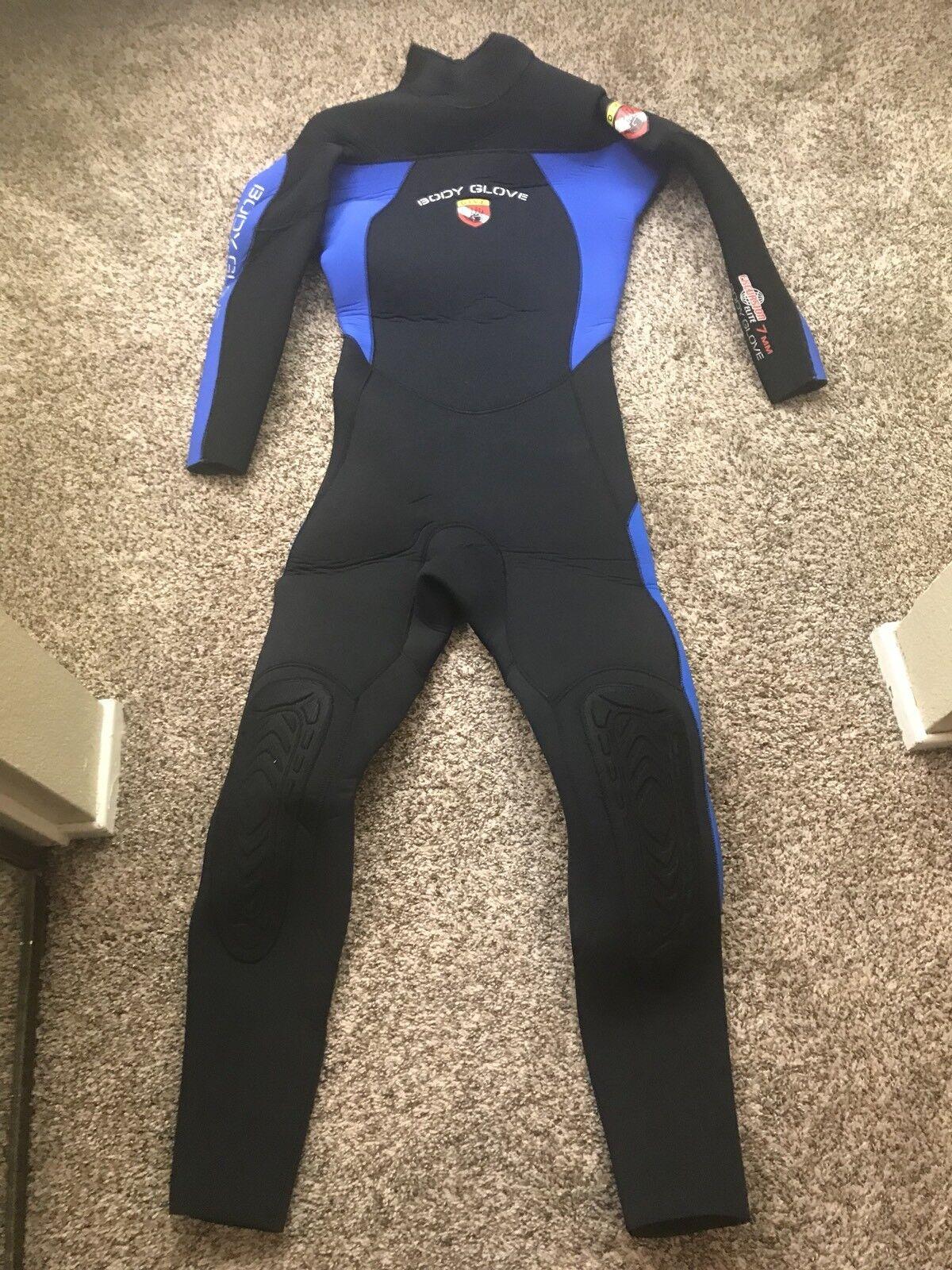 Nuevo guante de 7 mm. traje mojado de buceo, Código masculino largo.