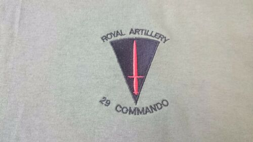 BRITISH ARMY RA ROYAL ARTILLERY 29 COMMANDO SWEATSHIRT