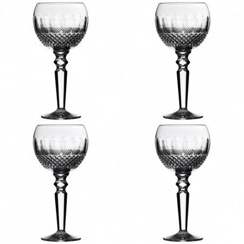 Waterford Colleen Encore Wine 4 Four Crystal Wine Glasses #135833 New