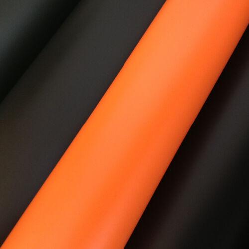 car wrap Film Orange Mat avec les gaines sans bulles Film 9,18 €//m²