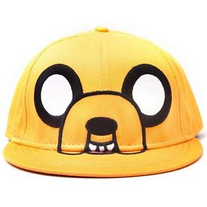 Official Licensed Adventure Time Finn Character Printed Bill Snapback Cap Hat