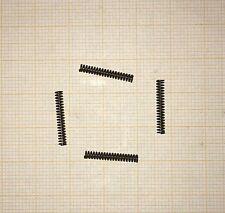 4 x Druckfeder, Länge 15,5mm, Außen Ø2,4mm, Drahtstärke 0,4mm, Modellbau