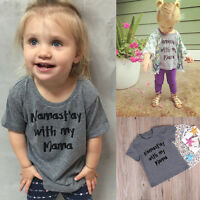 Lovely Toddler Baby Boy Girl Clothes Short Sleeve T-shirt  Summer Tee Tops Tee