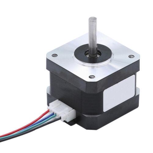 1.3A Bipolar Stepper Motor 4 Lead for 3D Printer CNC 30Ncm Nema 17 34mm 43oz.in