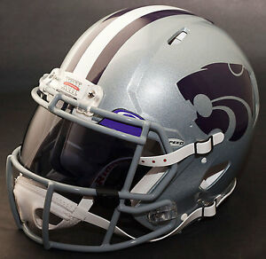 1a7e16d24 Image is loading KANSAS-STATE-WILDCATS-Authentic-GAMEDAY-Football-Helmet-w-