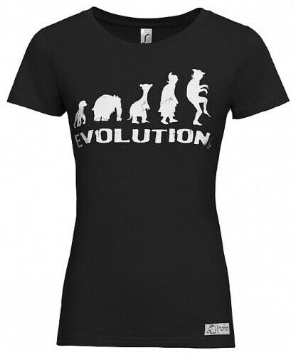 "Damen T-Shirt /""EVOLUTION/"" by Otto Waalkes"