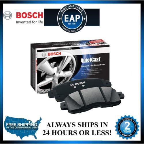 For 09-14 TSX 08-15 Accord Bosch QuiteCast Semi Metallic Rear Disc Brake Pad NEW