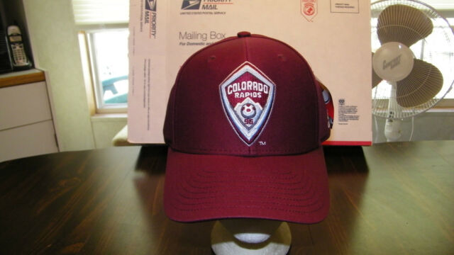 brand new ecc2b 72147 Colorado Rapids ADIDAS EMBROIDERED CAP, OFFICIAL MLS, STRAPBACK, NWT