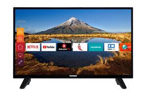 Telefunken XF32E411M LED Fernseher 32 Zoll Full HD Triple-Tuner Smart TV WLAN CI