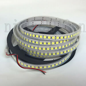 5M-5054-LED-Flexible-Strip-Light-600LEDs-IP68-Tube-Waterproof-12V-Single-Row