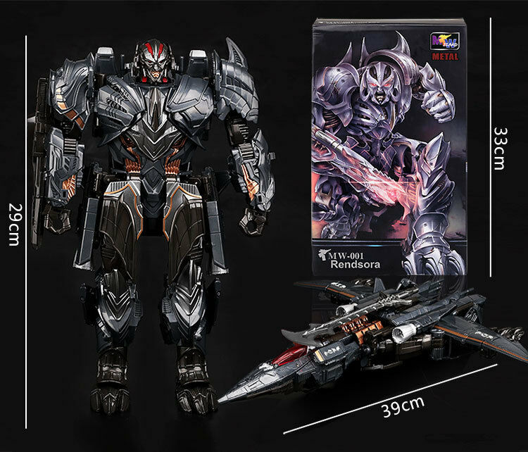 W8073 weijiang transformation actionfigur roboter kraft rendsora megatron box