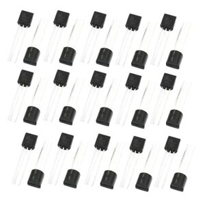 50pcs-General-Propose-2N2907-25V-0-1A-TO-92-Package-PNP-Transistor-CP