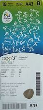 TICKET A 19.8.2016 Olympic Rio Basketball Men's Spanien Spain - USA # A43