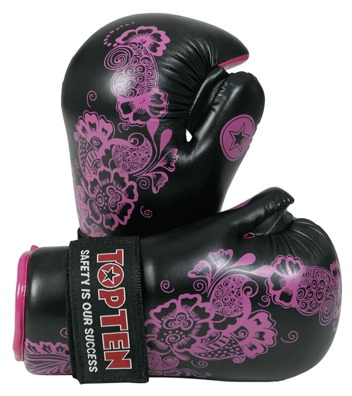 Top ten pointfighter g  s Flower Woman Adult Sparring Training Taekwondo  factory direct and quick delivery