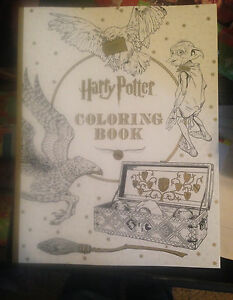 New Harry Potter Coloring Book | eBay