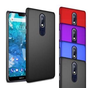 Pour-Nokia-7-1-2018-5-84-034-Ultra-Slim-Hard-Case-Mince-hybride-couverture-arriere
