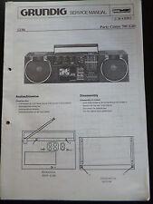 Original Service Manual  Grundig Party Center 700