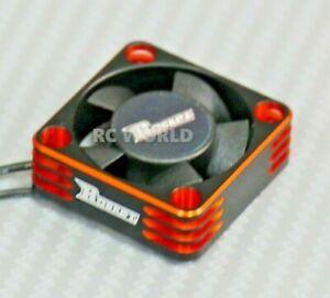 1//10 COOLING FAN Heat Sink Max Speed Aluminum Lightweight High Air Flow ORANGE