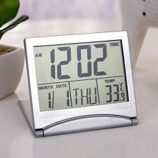GIFTS FOR MEN New Digital LCD Thermometer Calendar Alarm DESK Clock For Office