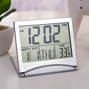 Gifts For Men New Digital Lcd Thermometer Calendar Alarm