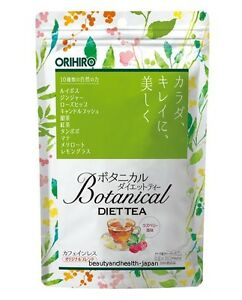 Japan Orihiro Botanical Diet Tea 2g X 20 Body Detox Cleanse Beauty