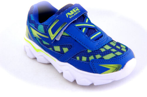 Toddler Boy/'s Sneakers tennis shoes Easy to Wear Royal Neon G Light Weigh