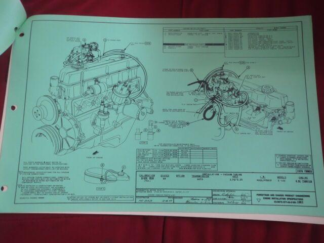 1978 Ford E100 300 Ld 4 9l Automatic Trans Vacuum