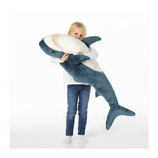 Brand NEW BLÅHAJ Soft toy, SHARK Extra Large Friendly Shark Stuffed Animal Toy