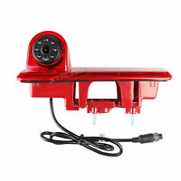Rear Reversing View Camera Brake Light For Vauxhall Opel Vivaro/renault Traffic