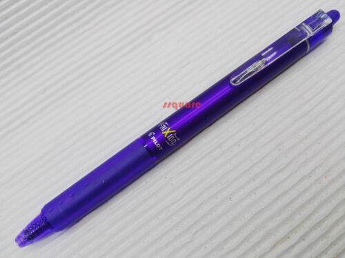 2 x Pilot FriXion Ball Knock Clicker 0.7mm Erasable Rollerball Pen Light Green