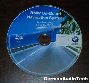 bmw navteq on board navigation dvd cd map disc north america 2007 2 65900426554 ebay. Black Bedroom Furniture Sets. Home Design Ideas
