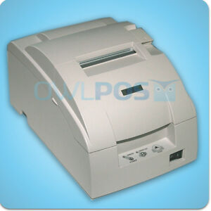 Details about Epson TM-U220B POS Dot Matrix Receipt Printer Impact Ethernet  White REFURB M188B