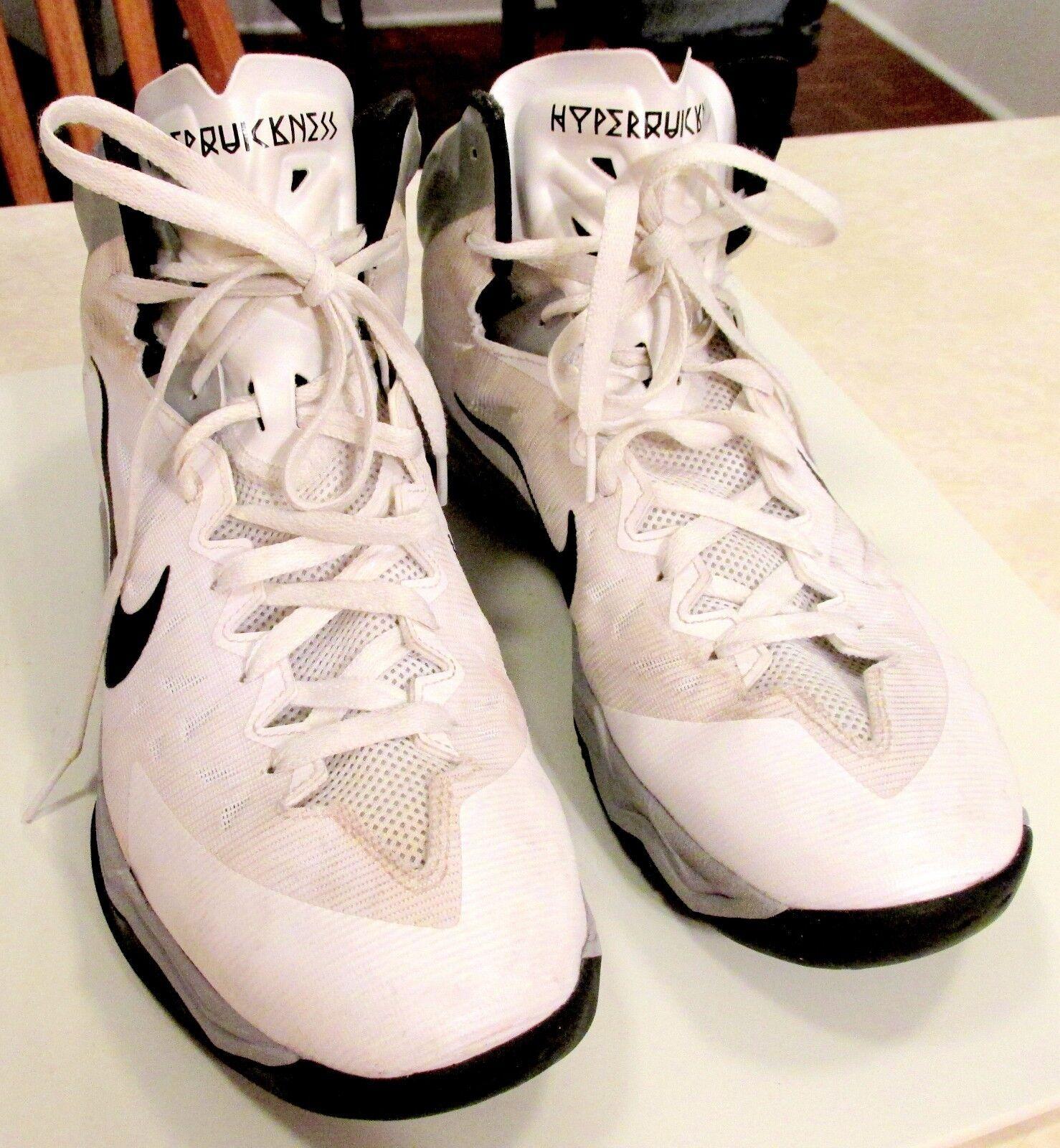 Nike zoom hyperquickness 599420-100 Uomo scarpe da basket 46 (bianco)