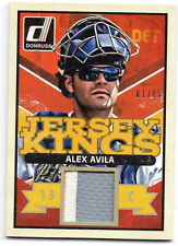 2014 DONRUSS ALEX AVILA PRIME JERSEY KINGS PATCH #01/15 - DETROIT TIGERS RARE #1