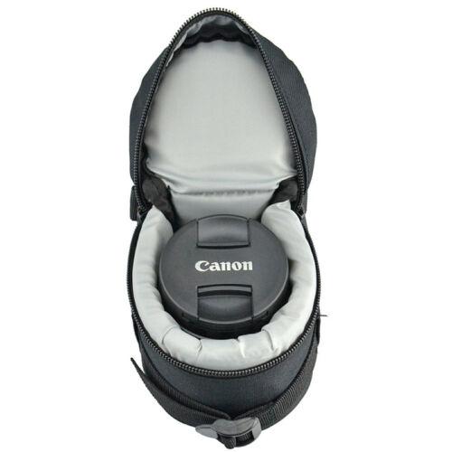 Housse Etui Sac Pochette de Protection pour Objectif Zoom Photo 75x125mm