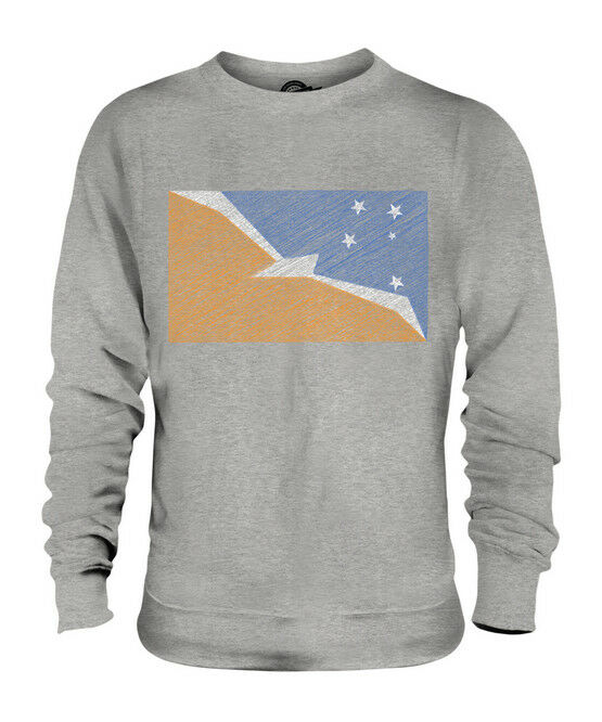 TIERRA DEL FUEGO PROVINCE SCRIBBLE FLAG UNISEX SWEATER  TOP GIFT FOOTBALL SHIRT