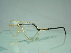fb443caae6 24KT GOLD HILTON MANHATTAN 201 C1 Aviator Glasses Eyeglasses Frames ...