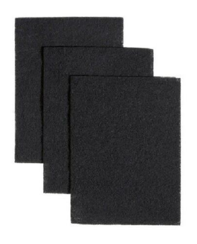 """7-3//4/"""" x 10-1//2/"""" Carbon Filters Pad Kit Compatible Broan BP58 Size 3-PACK"""
