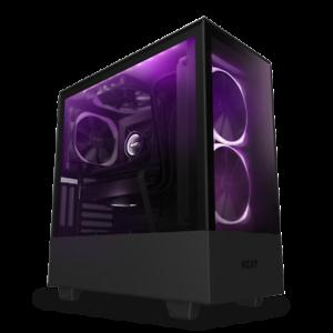 NZXT-H510-Elite-Black-Mid-Tower-w-Tempered-Glass-Window-ARGB-140mm-Fans