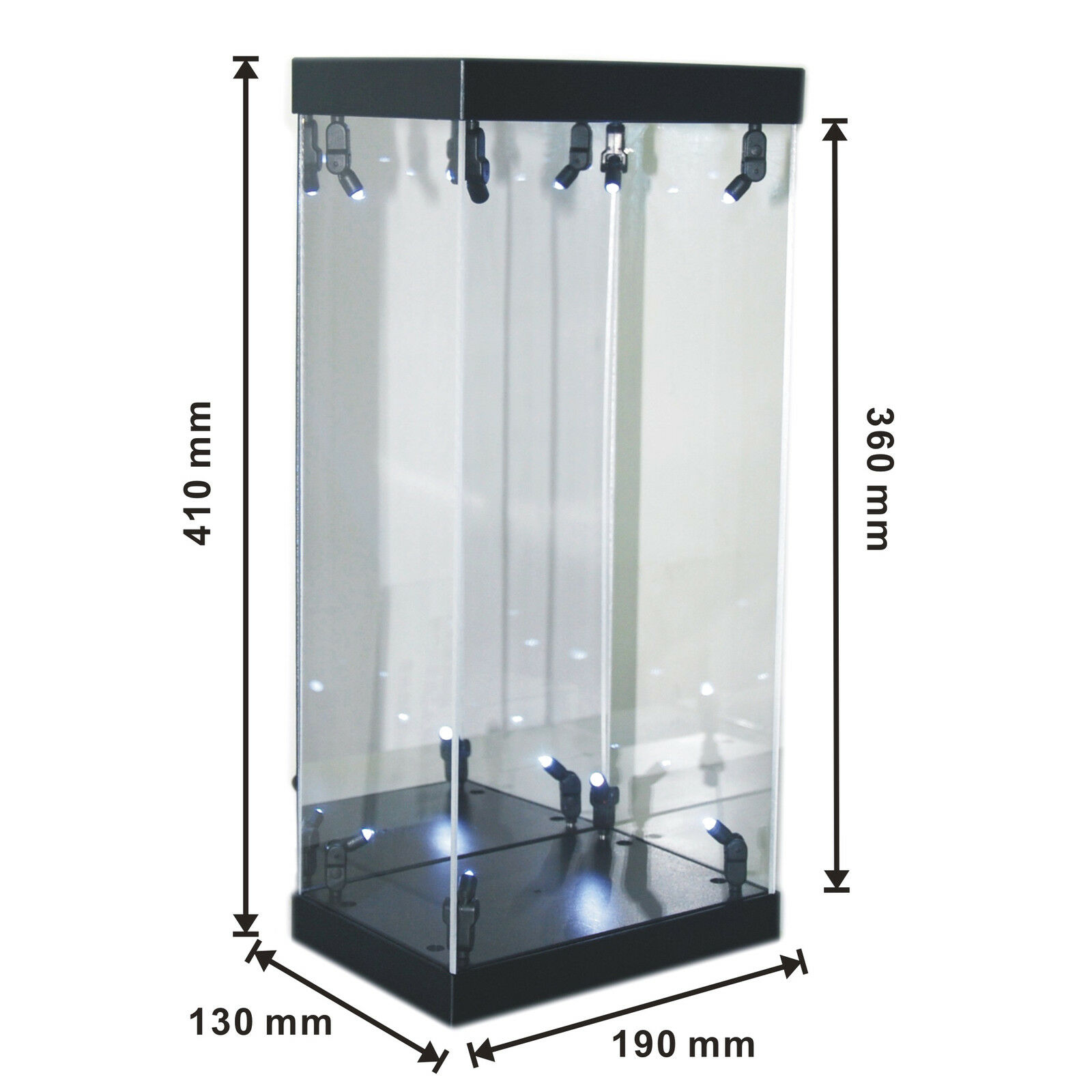 Acrylic Display Case Light Box for 12  1 6th Scale Star Wars Stormtrooper Figure
