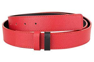 b9e01b5427a64 Reversible Red Leather Belt Womens Mens Black belts ferragamo buckle ...