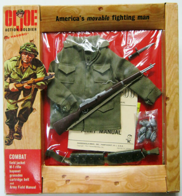 Vintage 1964 Hasbro Gi Joe 7501 Soldier Combat Field